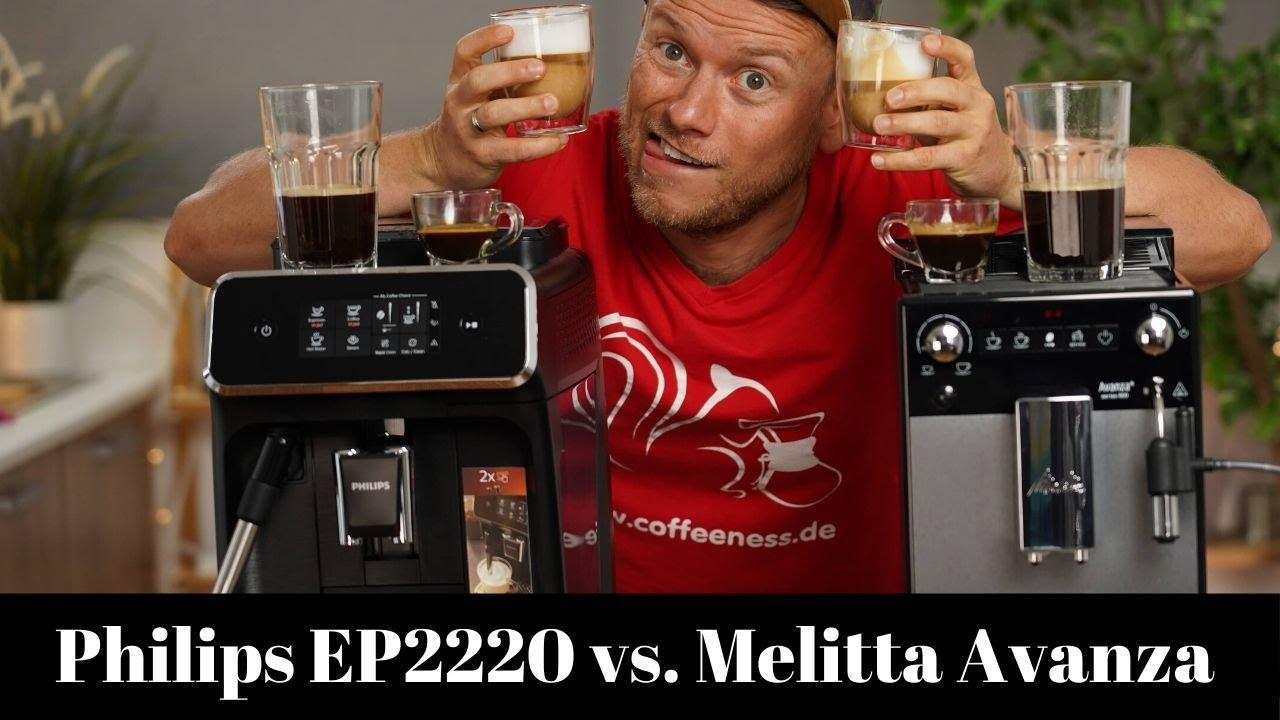 Melitta Avanza Series 600 vs Philips EP2220 | Zwei Kaffeevollautomaten im Vergleich