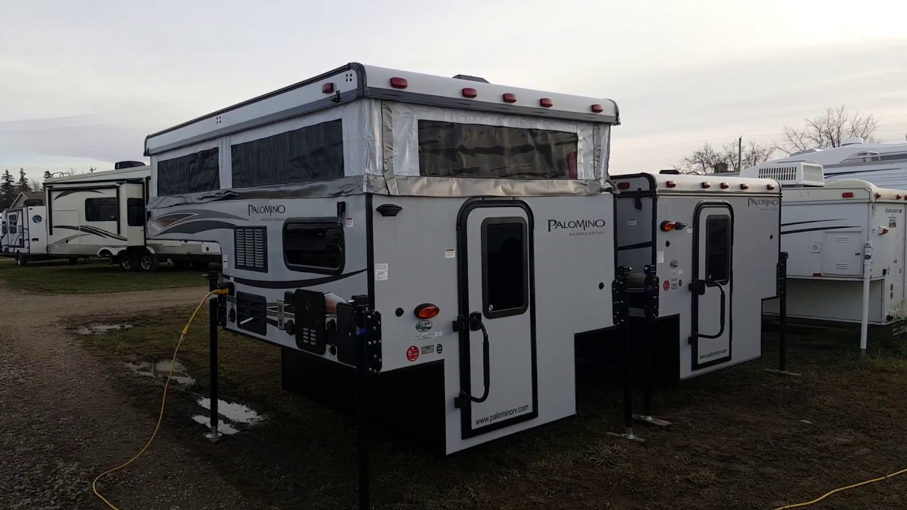 2018 Palomino Backpack SS550 Pop up Truck Camper @ Camp-Out RV in Stratford