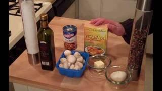 Polenta With Mushroom Sauce