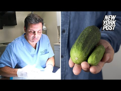 Dr. Penis' $25K injections can increase a man's girth by two inches