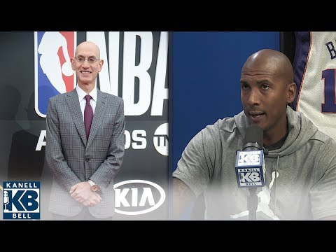 Raja Bell reacts to NBA's new tampering rules | Kanell & Bell