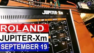 Roland Jupiter Xm | Roland 1909 Launches