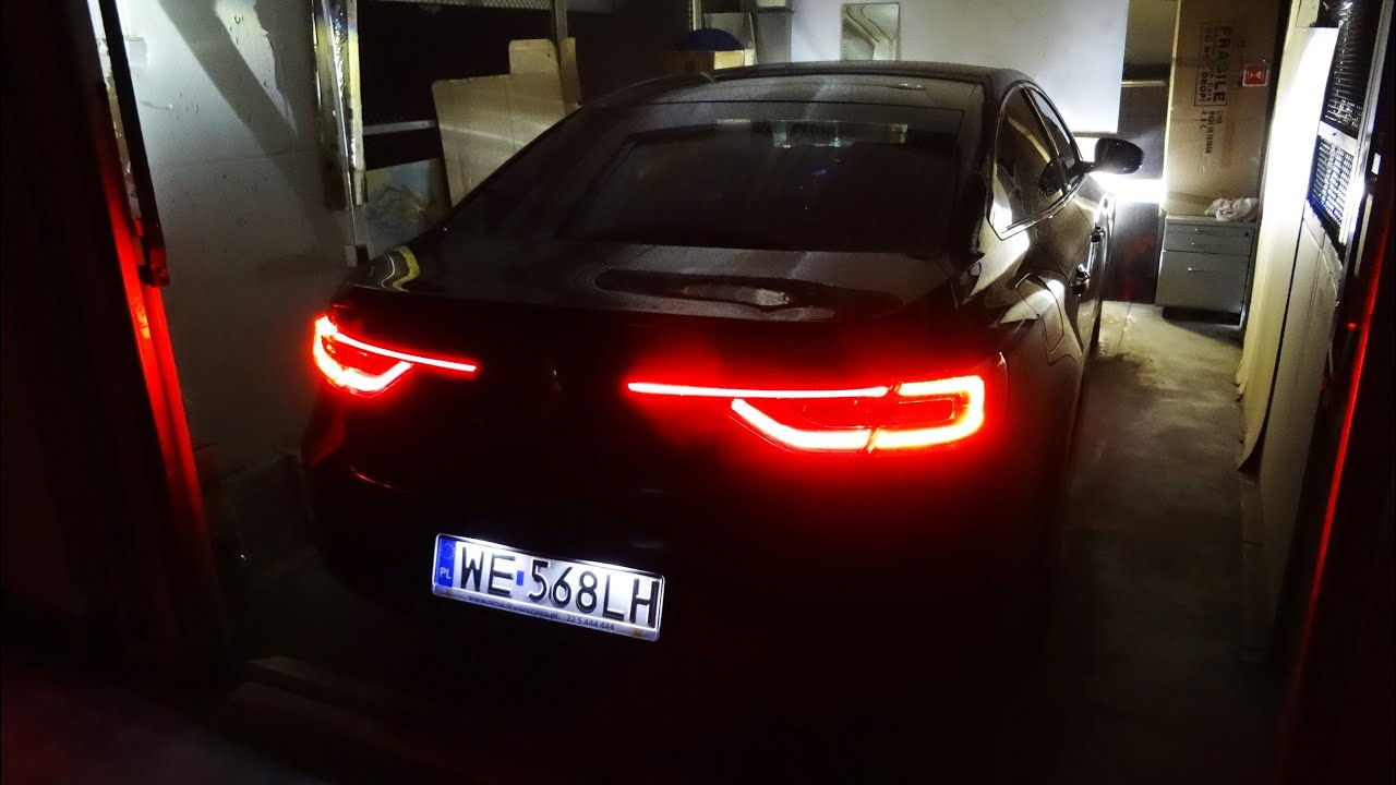 2016 Renault Talisman Led Lights Interior Ambient Lighting