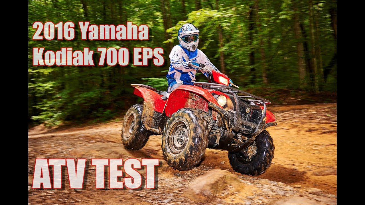 2016 yamaha kodiak 700 eps first test review youtube for Yamaha kodiak 700 review