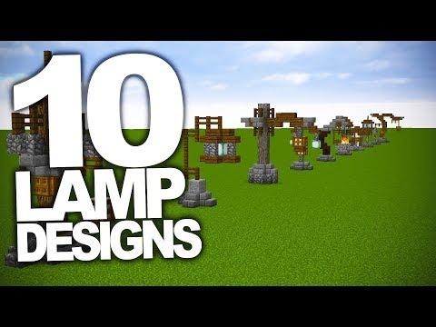 10 Interesting Lamp Designs In Minecraft