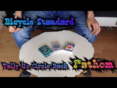 Deck Review Bicycle Standard, Tally Ho Circle Back, Fathom