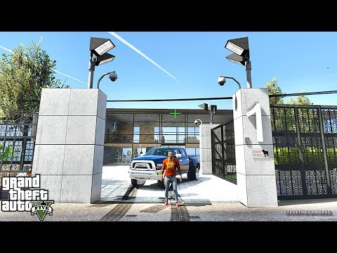 GTA 5 REAL LIFE MOD #403 NEW MANSION FOR SALE !!! (GTA 5 REAL LIFE MODS)