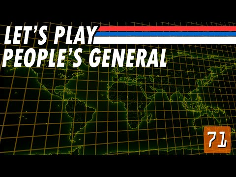 Let's Play People's General - 71 - Tank for Every Occasion (Singapore Part 2)