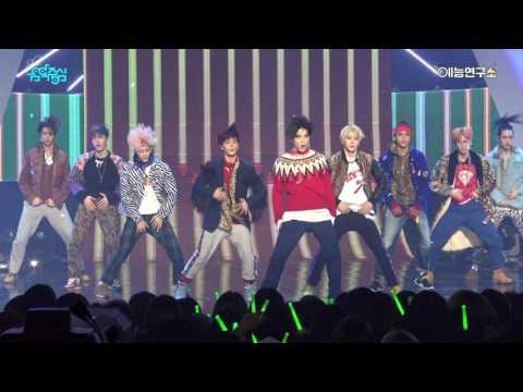 [예능연구소] 엔시티127 無限的我 (무한적아) @쇼!음악중심_20170107 LIMITLESS NCT 127 in 4K