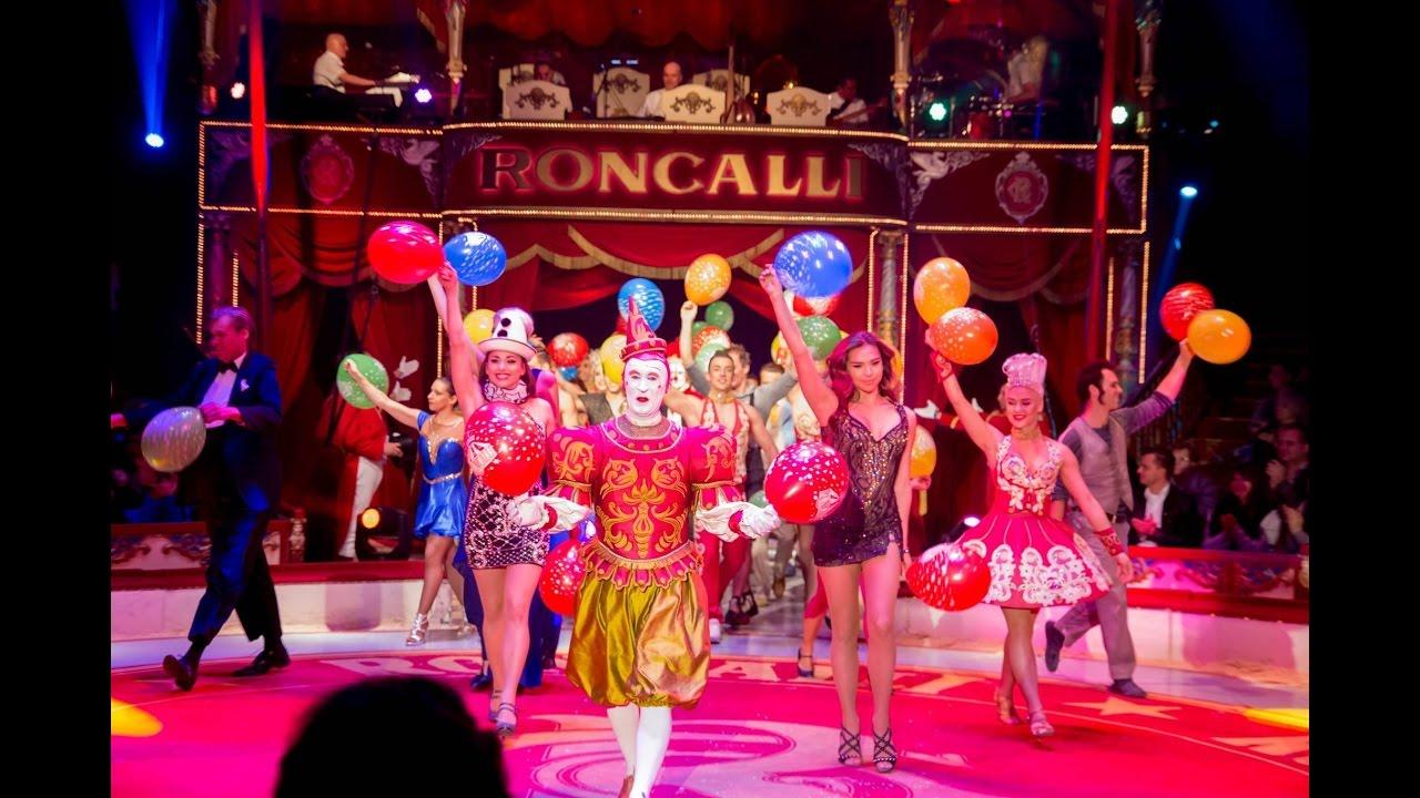 Circus Roncalli am Roncalli-Platz auf der Messe Graz ★ die