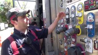 A Tour Of A New York City Fire Engine On Staten Island, NY