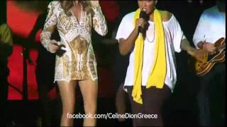 Celine Dion Ft. Diana King - Treat Her Like A Lady (Live Jamaica Jazz & Blues Festival 27/01/12)