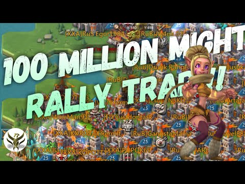 109 MIL PLAYER EATS A FULL RALLY Lords Mobile