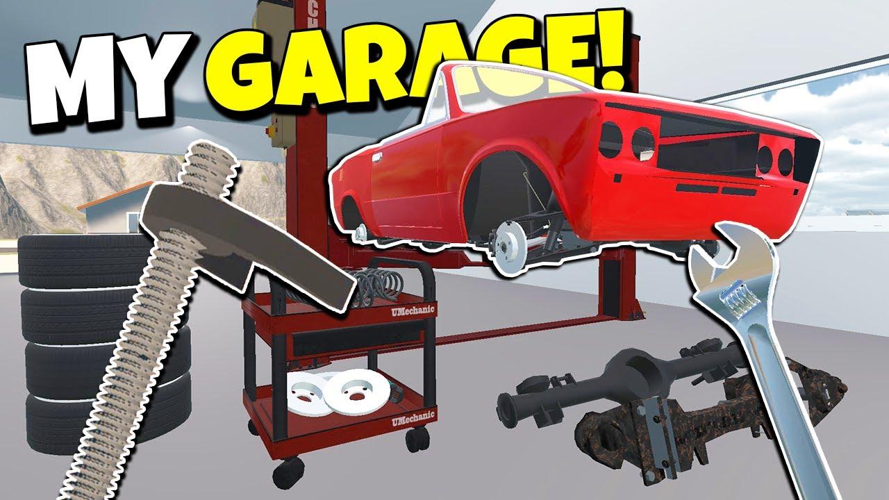 MONTEI a NOVA SUSPENSÃO e ENCONTREI uma CASA SECRETA! My Garage