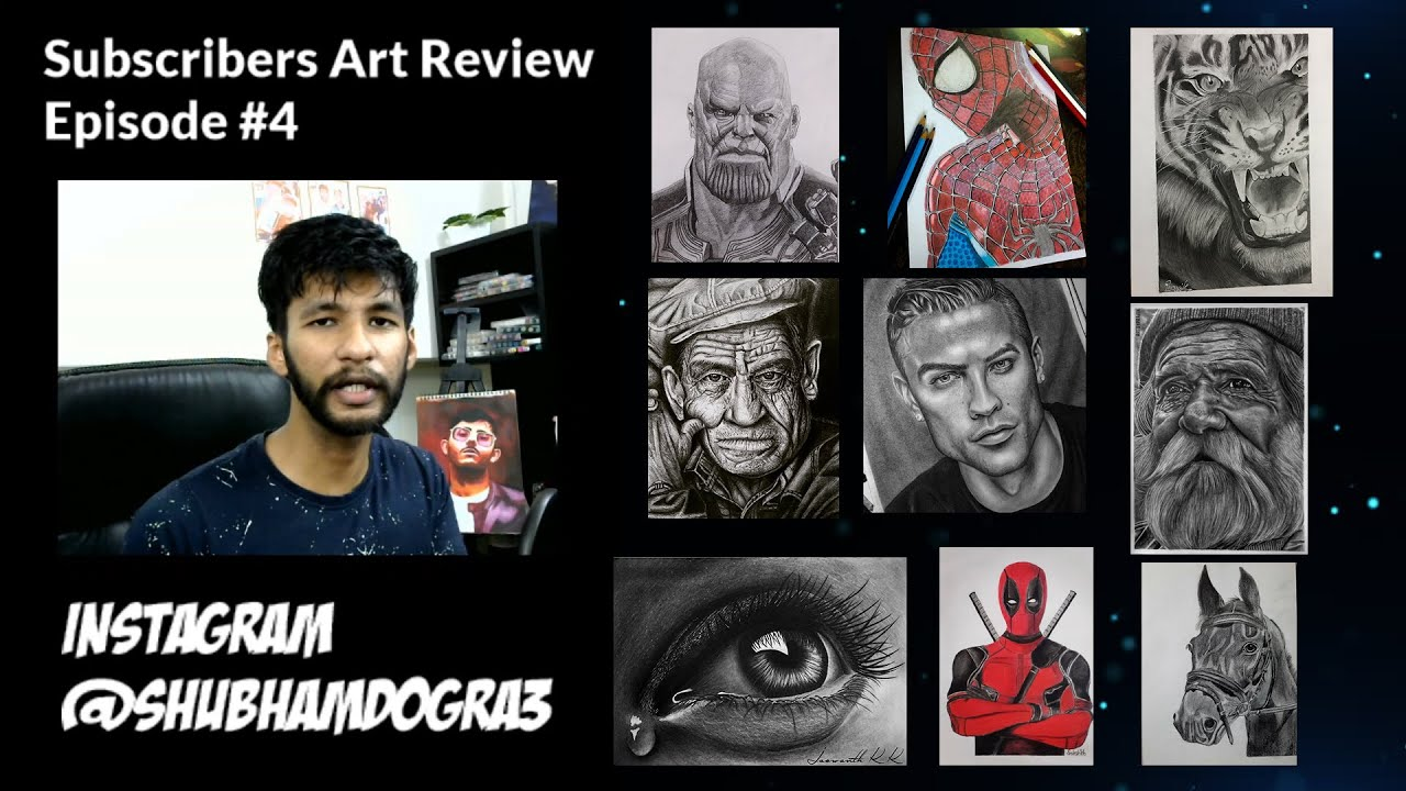Subscribers Art Review - Episode #04