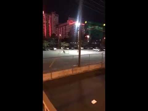 Las Vegas Shooting Street Footage with Police Scanner Audio  I WAS THERE 360p