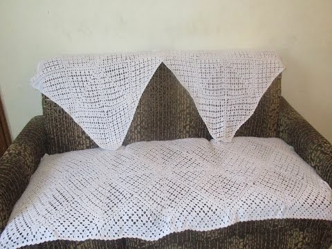 Crochet Sofa Cover 51 Hindi Youtube