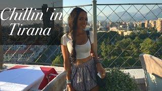 Tirana Nightlife + American speaking Albanian   GGP Travel Vlog