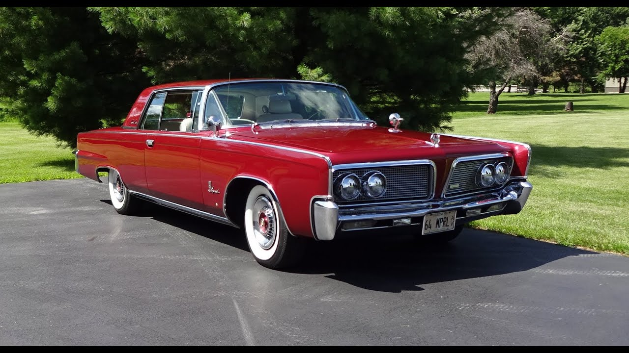 1964 Chrysler Imperial Crown Coupe on My Car Story with Lou ...