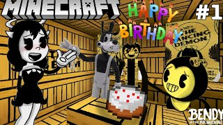 Download BENDY'S BIRTHDAY PARTY IN MINECRAFT! - BATIM 2nd Birthday Special Mp3 and Videos