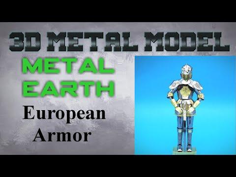 Metal Earth Build - European Armor