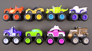 BLAZE Nickelodeon Blaze and the Monster Machines Truck a Blaze Video Toy Review