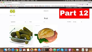 #12 Display Products By Categories | Fetch Data with Ajax | Laravel 5.5 E-commerce website tutorial