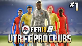 FIFA 18 Pro clubs Compilation (UTR FC) Ea shield