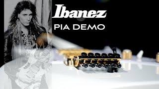 Ibanez PIA 3761-SLW Steve Vai signature Demo | Lee Wrathe | Free Track download