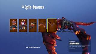 Jai buy the fiery legend pack FORTNITE season 8