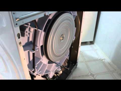 siemens iq700 washing machine test spin without back panel
