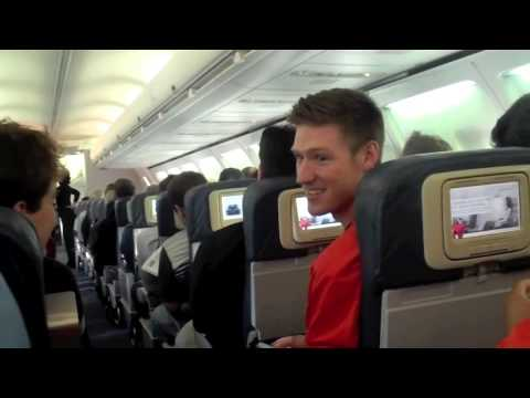 Wallace On The Road: The Falcons Trip To Alaska - Part 1