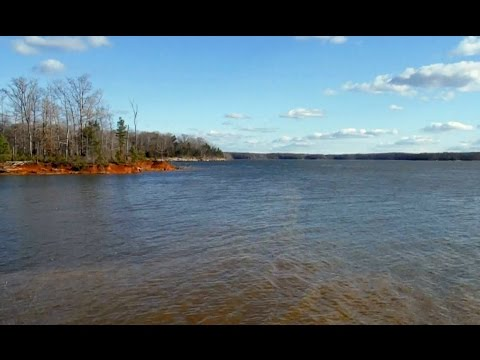 Exploring the Panhandle at Occoneechee State Park near Clarksville, Virginia