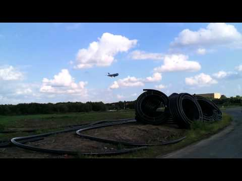 Hannover Airport Landing