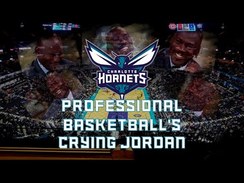 The Charlotte Hornets: Professional Basketball's Crying Jordan - Urinating Tree