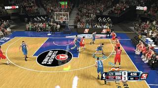 NBA 2K14 HOW NOT TO PLAY PICK N ROLL DEFENSE #1