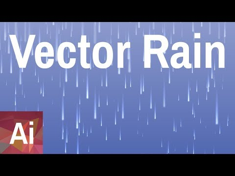 Vector Rain - Adobe Illustrator Tutorial thumbnail