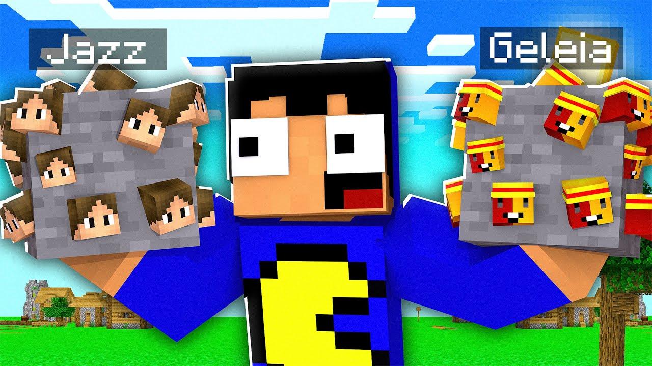MINÉRIO dos YOUTUBERS no Minecraft! 😱