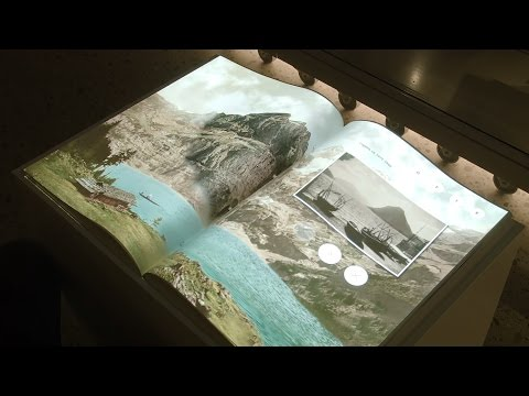 National Museum Zurich - The Interactive Books of the Exhibition 'Ideas of Switzerland'