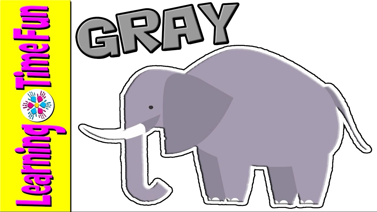 The Colors Gray Color Primary Names All Colour Esl You