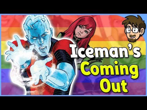 Why Iceman Being Gay Kind Of Works!