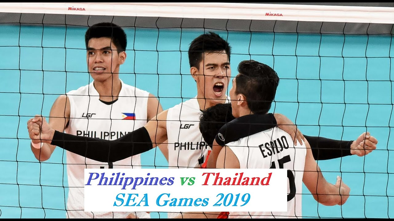 Download SEAGAMES 2019 Men's Volleyball Philippines vs Thailand Battle for Dethrone
