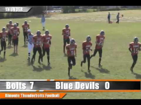 Almonte District High School Thunderbolts vs Perth District Collegiate Institute Blue Devils - Octob