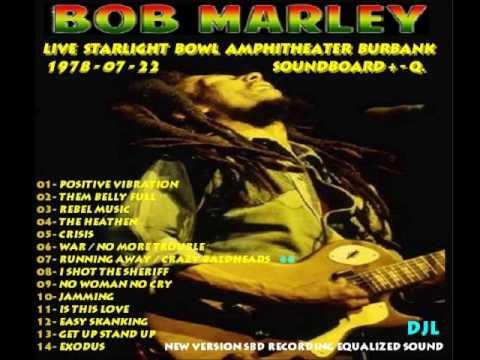 1978- 07-22 Bob Marley- 07 Running Away / Crazy Baldheads -Live Starlight Amphitheater Burbank