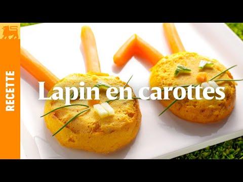 Le lapin aux carottes