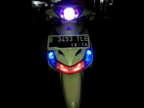 modifikasi lampu mio smile terpopuler