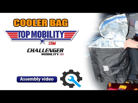 Challenger Cooler bag Accessory J880 for most Golden, Pride & Drive Mobility Scooters
