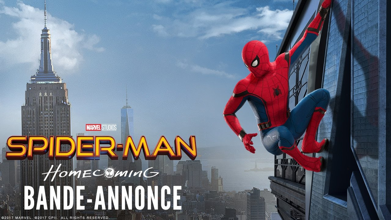 spider man homecoming nouvelle bande annonce vf youtube