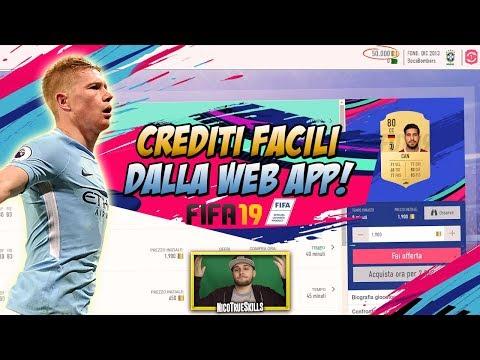 Come GUADAGNARE i primi 50k Crediti su FIFA 19 dalla Web App! | Compravendita