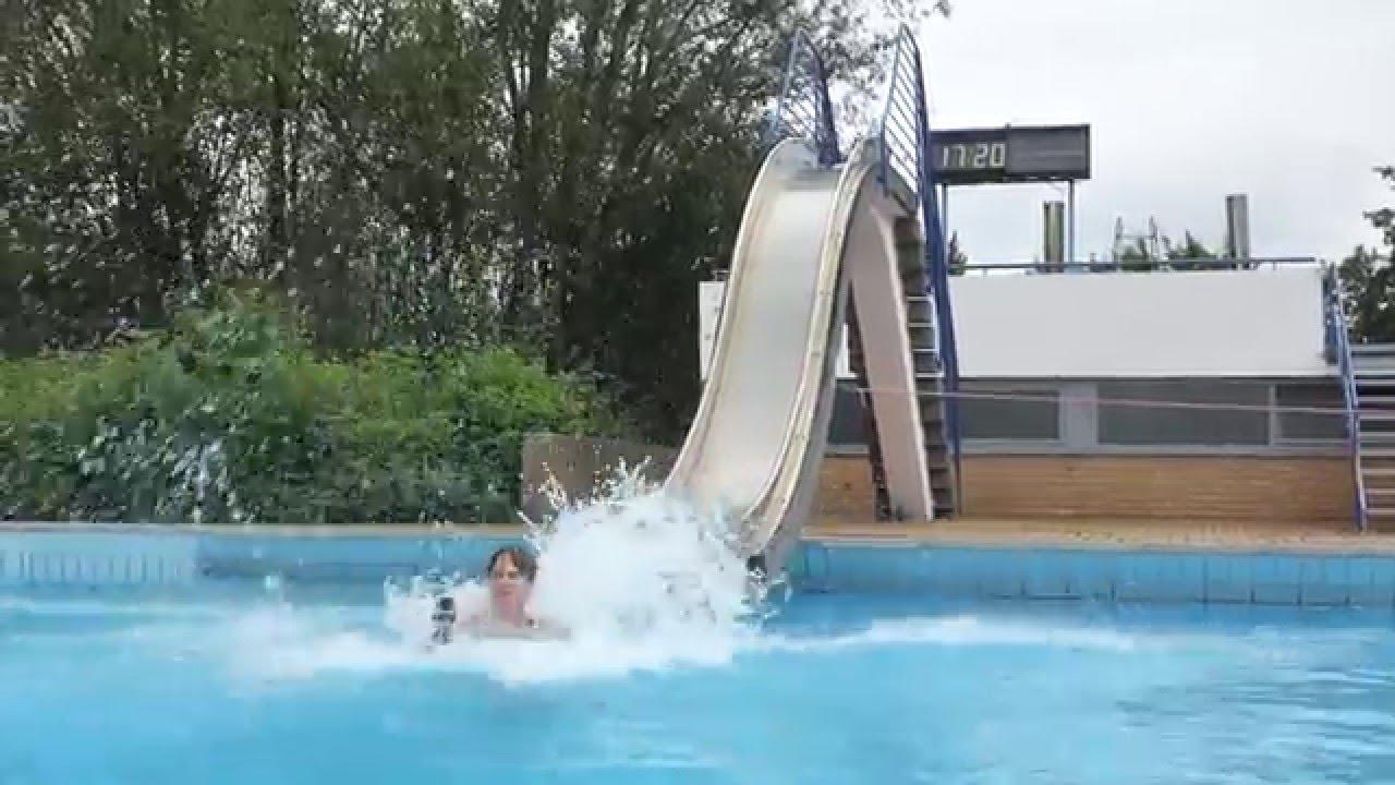 Paffrath Schwimmbad beckenrutsche im freibad heljensbad heiligenhaus